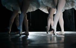 The ballerina royalty free stock photography