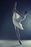 Ballerina tiptoe split Stock Images