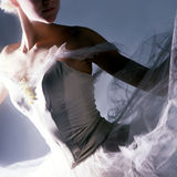 Ballerina. Close up stock photo