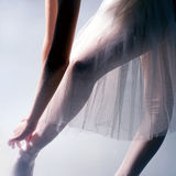 Ballerina. Close up stock image