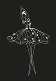 Ballerina, Arkivfoto