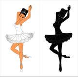 ballerina stock abbildung