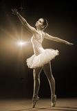 Ballerina-action Royalty Free Stock Photos