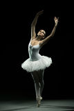 Ballerina-Aktion lizenzfreies stockfoto