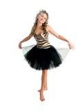 Ballerina attitude Royalty Free Stock Images