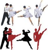Ballerina and ballet dancer Stock Photography