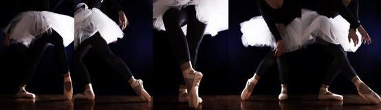 Ballerina Ballet Legs Stock Images