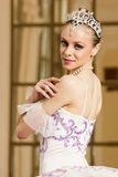 Ballerina in ballet pose Stock Image
