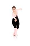Ballerina in ballet pose Stock Photos