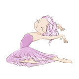 Ballerina. Royalty Free Stock Images