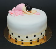 Ballerina cake Royalty Free Stock Photo