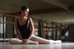 Ballerina in class Stock Photo