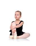 Ballerina crying Stock Photo