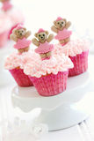 Ballerina cupcakes Royalty Free Stock Photo