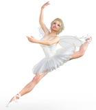 ballerina 3D con le ali Immagini Stock