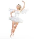 Ballerina 3D mit Flügeln Lizenzfreie Stockfotos
