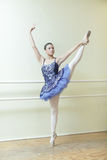 Ballerina at the dance studio Stock Image