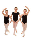 Ballerina Dancers in Class Royalty Free Stock Photography