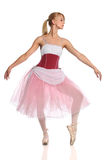 Ballerina Dancing Stock Photo