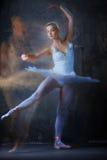 Ballerina dancing Royalty Free Stock Photos