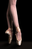 Ballerina Dancing In Pointe Royalty Free Stock Photo