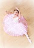 Ballerina at dancing school Stock Image