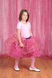 Ballerina della bambina Immagini Stock Libere da Diritti