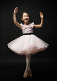 Ballerina della bambina Fotografie Stock Libere da Diritti