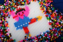 Ballerina Design in Plastic Royalty Free Stock Photos