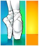 Ballerina di balletto Fotografie Stock Libere da Diritti