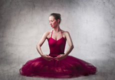 Ballerina di Prima Immagine Stock