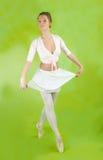 Ballerina die een dans uitvoert royalty-vrije stock afbeeldingen