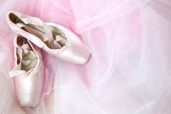 Ballerina dreams stock images