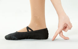 Ballerina Feet Stock Images