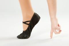 Ballerina Feet Stock Photos