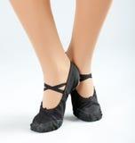 Ballerina Feet Stock Image