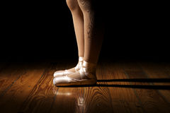 Ballerina Feet Royalty Free Stock Photo