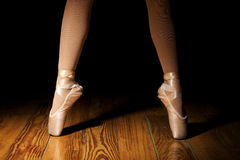 Ballerina Feet, second position Stock Images