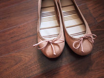 Ballerina flats Royalty Free Stock Photos