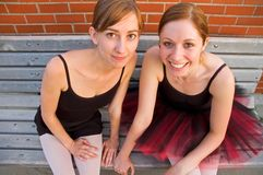 Ballerina-Freunde Lizenzfreie Stockfotografie