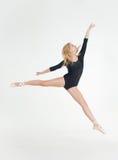 Ballerina girl blonde Stock Images