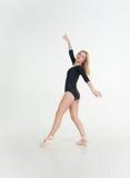 Ballerina girl blonde Stock Photo