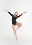Ballerina girl blonde Stock Image