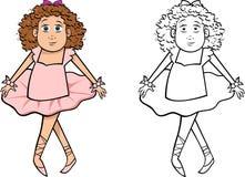Ballerina girl Royalty Free Stock Image