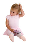 Ballerina Girl with her Tutu Royalty Free Stock Images