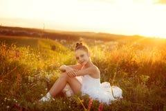 Ballerina girl Stock Photos