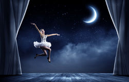 Ballerina girl Stock Images