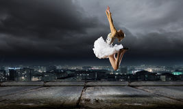 Ballerina girl Stock Photos