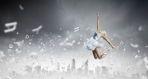 Ballerina girl Royalty Free Stock Images