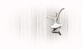 Ballerina girl Stock Images